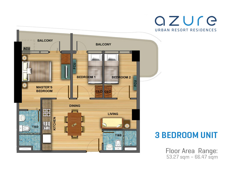 Azure Urban Resort Residences Floor Plans Century